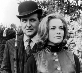 Patrick Macnee and Honor Blackman